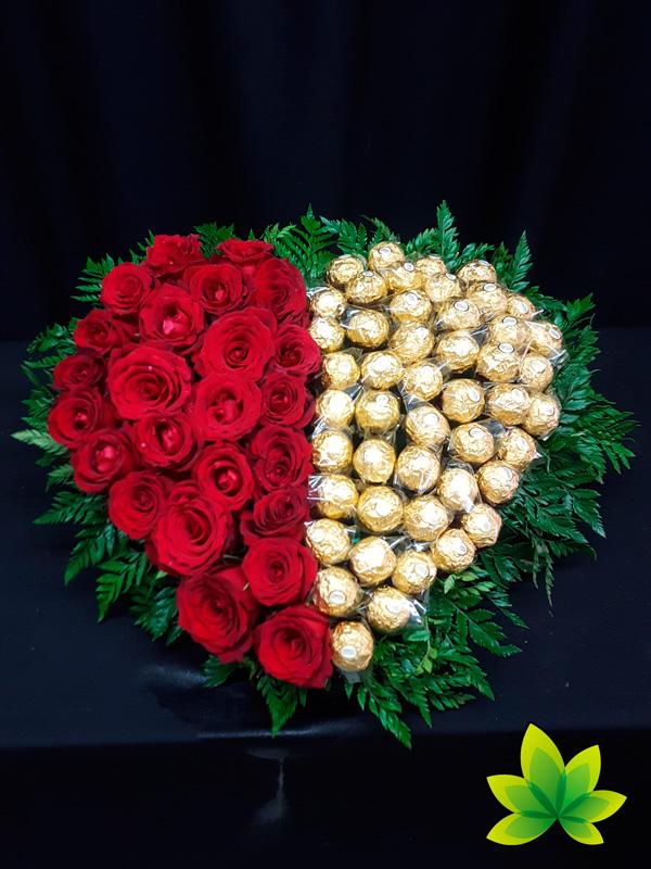 corazon-24-rosas-y-chocolates